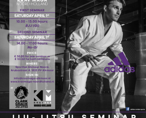 BJJ seminars met Clark Gracie