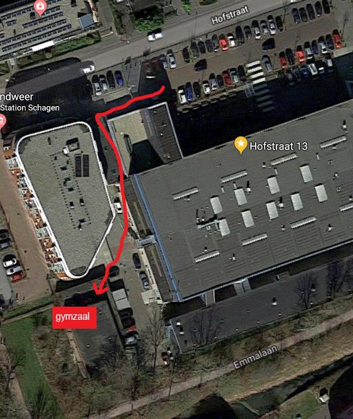 gymzaal Hofstraat Schagen